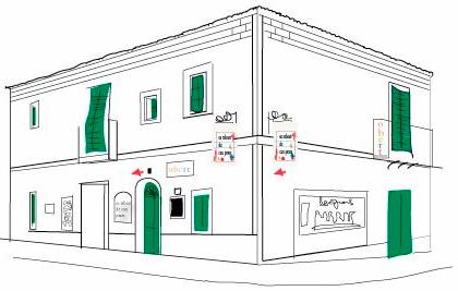 Logo, ilustraciones web y cartas Es Rebost de Can Prats